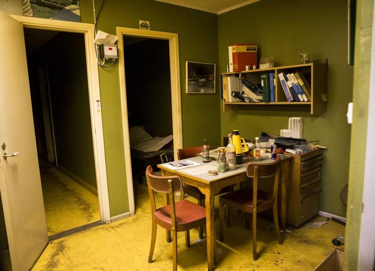 Ett av kontorsrummen
