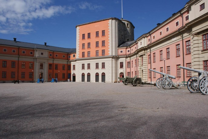 Inre borggården Vaxholms Kastell (c) Anders Lövegard