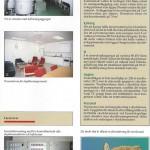 sida ur informationsbroschyr över anläggningen.