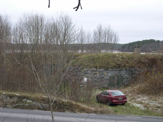 16.batteriet sett från vägen (c) Anders Lövegard